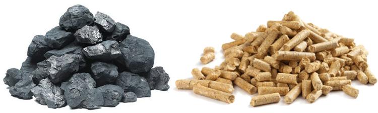 Уголь и пеллеты