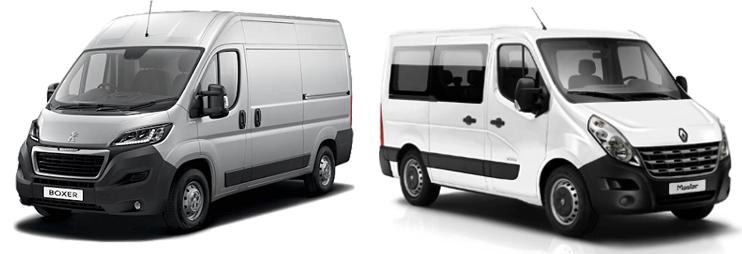 Peugeot Boxer и Renault Master
