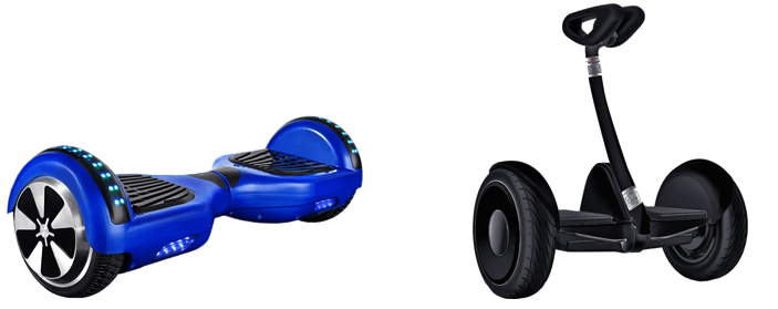 гироскутер и мини-сигвей