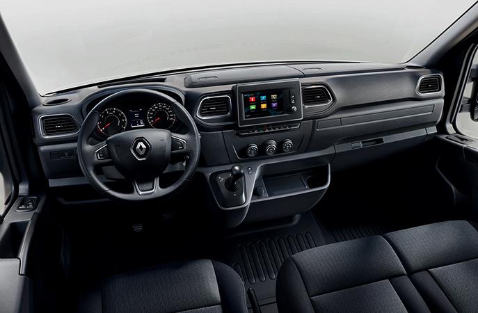 Интерьер Renault Master