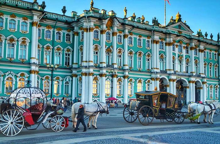 Величественный Зимний дворец