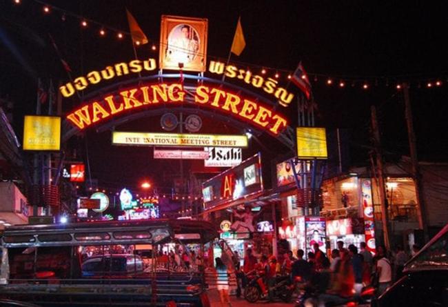 Улица Walking Street в Паттайе