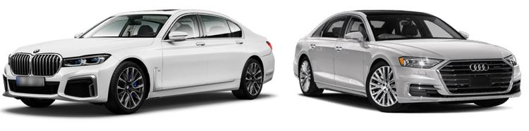 BMW 7 и Audi A8