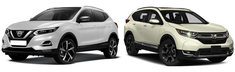 Nissan Qashqai и Honda CR-V