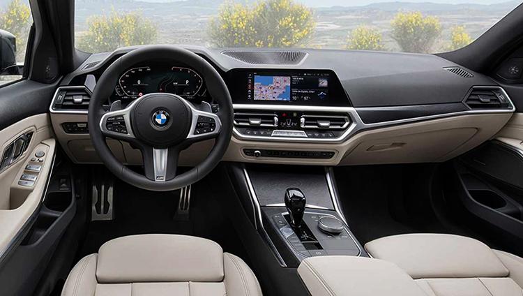 Интерьер BMW 3
