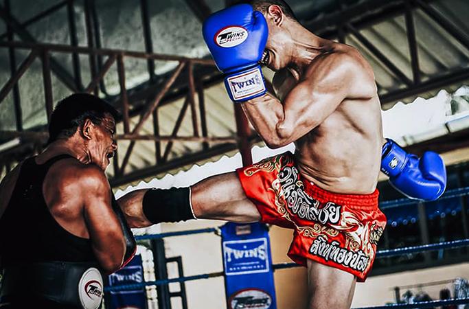 Бой в тайском боксе