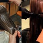 Разница между кератиновым восстановлением и выпрямлением волос