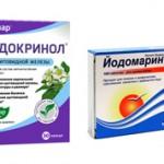 Эндокринол или Йодомарин — что лучше купить?