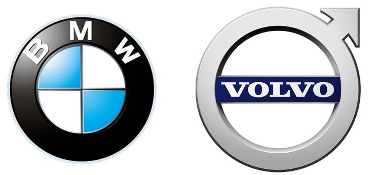 BMW и Volvo