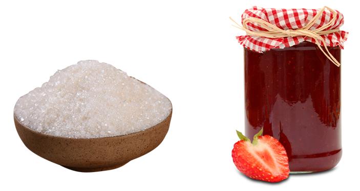 Сахар и варенье