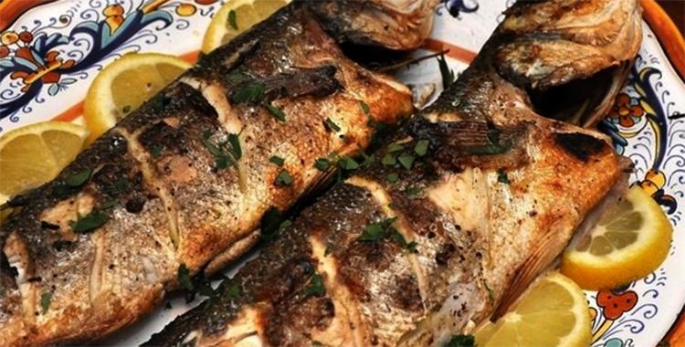 Приготовленная рыба голец